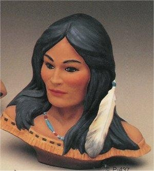 """Cheyenne  Maiden Bust 10.5""""t"""