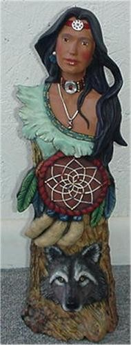 Indianwoman Totem 16""