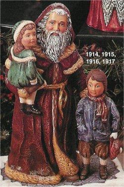 "Victorian Santa 10"""