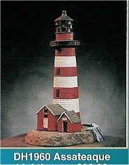 """Assateaque Lighthouse 11""""T"""
