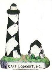 Cape Lookout Lighthouse 4""