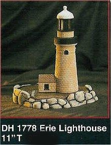 "Erie Lighthouse 11""T"