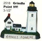 "Grindle Point Lighthouse 3.5""T"