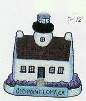 "Old Point Lighthouse 3.5""t"