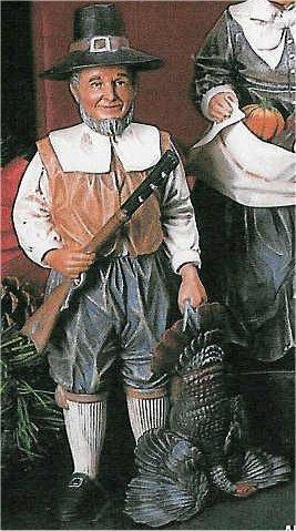 """Male Pilgrim 9.5""""T"""