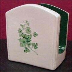 "French Ctry Napkinholder  5.5""x5"""