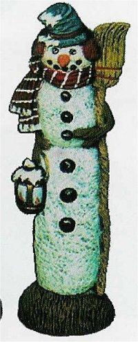 """Nowells Mr. Snowman 9""""t"""
