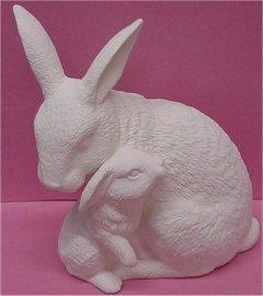"""Nurturing Rabbits 10""""T"""