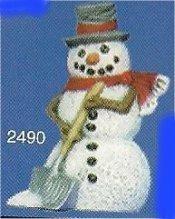 "Snowman w/Shovel Orn. 3""t"