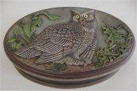Owl Oval Box