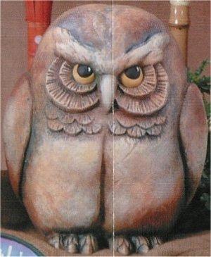 "Lg. Owl Watcher 12.25""T"