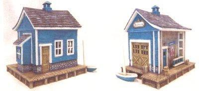 """Petro Boat House 7.5""""x7""""w"""