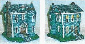"""Petro Brandywine Victorian House 5.5 x 7.5"""""""