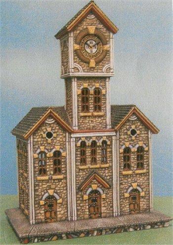 "Petro Clock Tower 11""x6""x4"""