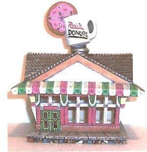 """Petro Rosie's Doughnut Shop 9 x 7.5 x 6.5"""""""