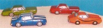 "Petro Muscle Car Set (4) 3.5""L"