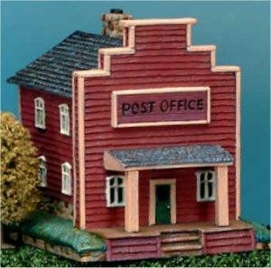 "Petro Post Office 6x6"""