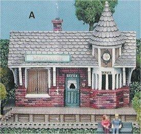 "Petro Train Station 9x4.5x8"""