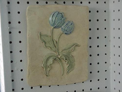 """Tulip Plaque 9"""""""