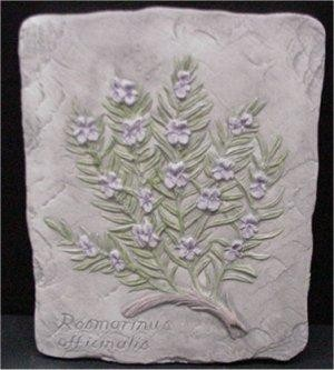 Rosemary Herb Plaque