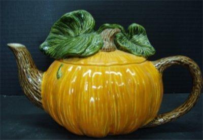 """Pumpkin Teapot 6.5""""T"""