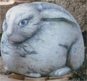 """Lg. Rabbit Watcher 9""""x13.5"""""""