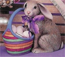"Rabbit w/Basket 10""T eggs Not Included"