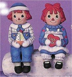 """Raggedy Ann & Andy Set 6""""t"""