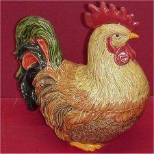 """Rooster Cookiejar 15""""T"""