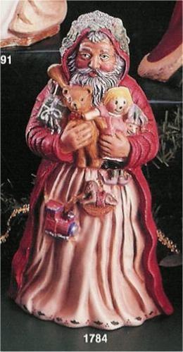 "English Toyland Santa 10.5""T"