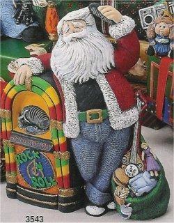 """50's Santas 9"""" t"""