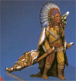 """Indian Santa 10.5""""T"""