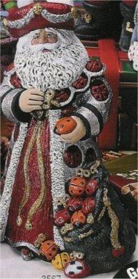 "Ladybug Santa 9"""