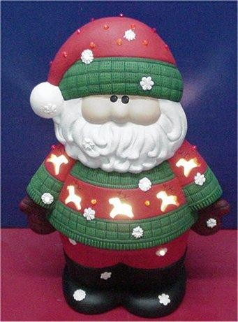 "Santa Light Up  15""T"