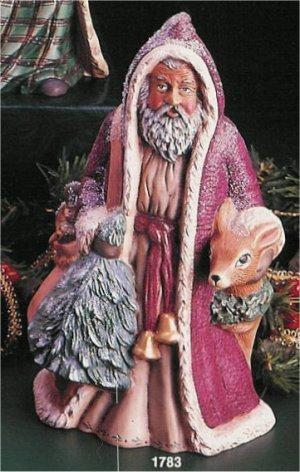 "Woodland Santa 10.5""T"