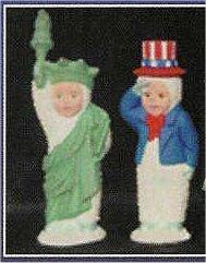 """USA Snowbaby Pair 3.5""""T"""