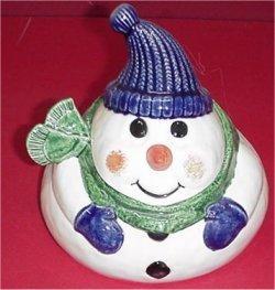 """Snowman Treat Box 6.5"""""""