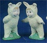 "Bunny Babies Kissing 3""T"