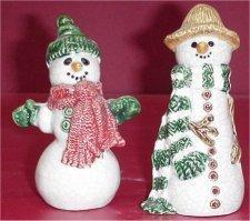 "Snowmen 5"" Set"