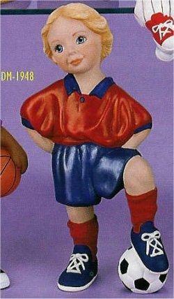 """Soccer Girl 9.5"""" t"""