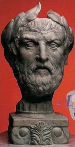 """Greek Bust 17.5""""T"""