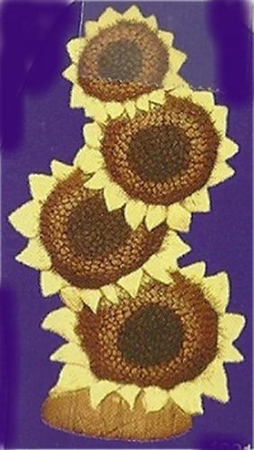 "Sunflower Stack 7.5""t"