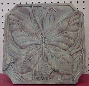 "Stepping Stone  Butterfly 12""x12"""