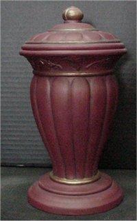 """Vase/Urn w/Lid 10""""t  5.5""""dia."""