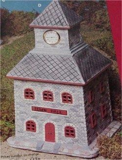 "VIPTown Hall clock not included Imprint  only12.25""T"