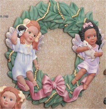 "Angelic Wreath 12""H"