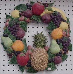"Wreath, Fruit 16"" D."