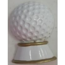 """KP Golf Ball Orn. 2.5""""x1.5"""""""