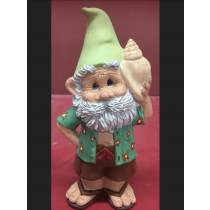 """Snerdly Shell Seeker Gnome 10""""T"""