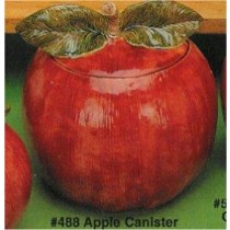 "Apple Canister 8.5""W"